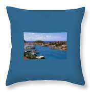 Beautiful Gustavia Throw Pillow