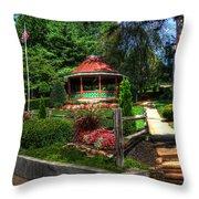 Beautiful Rest Stop Throw Pillow