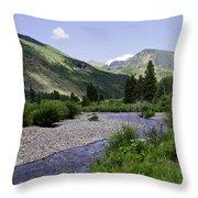 Beautiful Vail - Colorado Throw Pillow