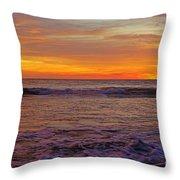 Beautiful Waves Throw Pillow