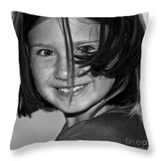 Beautifully Candid Throw Pillow