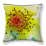 Beautifully Withered Throw Pillow