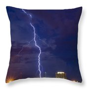 Beauty And Pain Throw Pillow