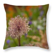 Beauty Clusters Throw Pillow