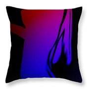 Beauty In The Lights Throw Pillow