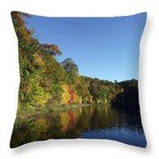 Beauty Lake Throw Pillow