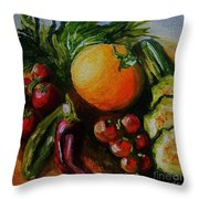 Beauty Of Good Eats Throw Pillow