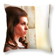 Beauty Two Throw Pillow
