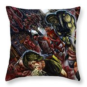 Because I Hate You Throw Pillow