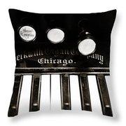 Beckwith Organ 2 Throw Pillow