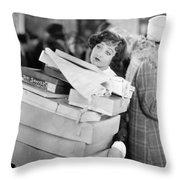 Becky, 1927 Throw Pillow by Granger