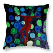 Becoming Whole Throw Pillow