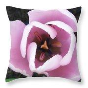 Bee-ware Throw Pillow