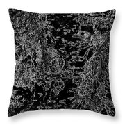 Beech Tree Digital Art Throw Pillow