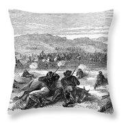 Beecher Island, 1868 Throw Pillow