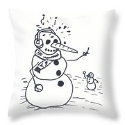 Beep You Throw Pillow