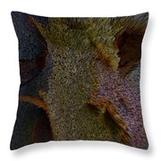Bees Of America Throw Pillow