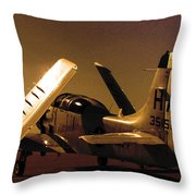 Before The Flight Throw Pillow