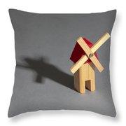 Behavior Of A Shadow Vertical, Photo 3 Throw Pillow