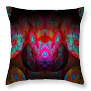 Behind The Eyes 3  Throw Pillow