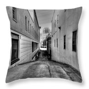 Behind The Scene Throw Pillow