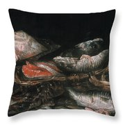 Beijeren: Fish Throw Pillow