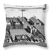 Beijing Ancient Observatory, 1747 Throw Pillow