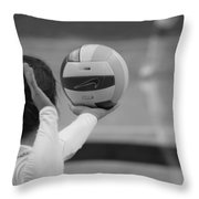 Being Served Throw Pillow