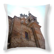 Bell Tower Of Our Lady Of Guadalupe Throw Pillow