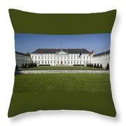 Bellevue Palace Berlin Throw Pillow