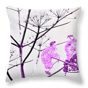 Sicilian Sound Of Spring Throw Pillow