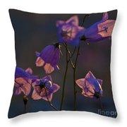 Bellflower Throw Pillow
