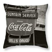 Bell's Drugs - D003280 Throw Pillow