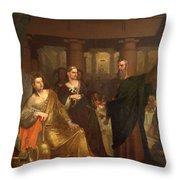 Belshazzar's Feast Throw Pillow