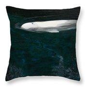 Beluga Impressions 2 Throw Pillow