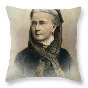 Belva Ann Lockwood Throw Pillow