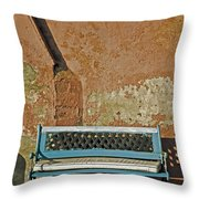 Bench Throw Pillow by Joana Kruse