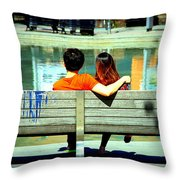 Benchlovers Throw Pillow