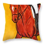 Bend II Throw Pillow