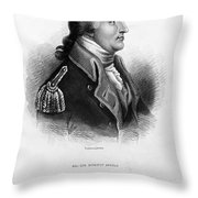Benedict Arnold, American Traitor Throw Pillow