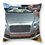 Bentley Starting Price Just Below 200 000 Throw Pillow