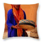 Berber  Throw Pillow
