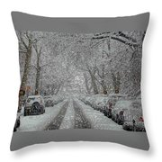 Berkeley Place Throw Pillow
