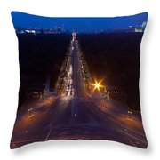 Berlin From The Siegessaule  Throw Pillow