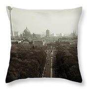 Berlin From The Victory Column Throw Pillow