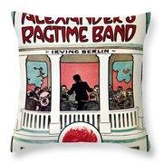 Berlin: Ragtime Band, 1911 Throw Pillow