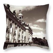 Berlin - Sanssouci Palace Throw Pillow