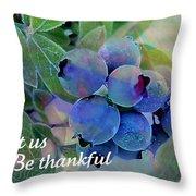 Berry Beautiful Throw Pillow