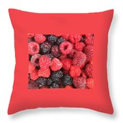 Berry Party Throw Pillow