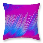 Beta-carotene Crystal Throw Pillow